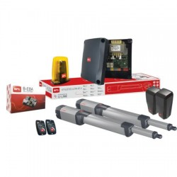 Automatizare porti batante BFT Kustos Ultra BT A 40 B-Eba wifi 400 Kg/canat, 4 m/canat, 24 V