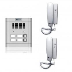 Set Interfon audio pentru 2 familii