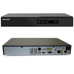 Dvr 4 canale HD Hikvision Hibrid TurboHD/AHD/IP DS-7204HGHI-F1/N