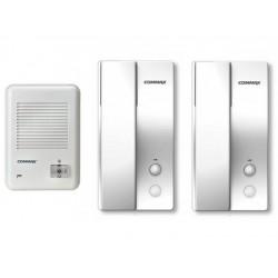 Kit Interfon Commax pentru 1 Familie cu 2 posturi RM30KS