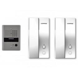 Kit Interfon Commax pentru 1 Familie cu 2 posturi RM30K