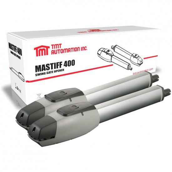 Kit automatizare porti batante 2 x 4m, greutate maxima 2 x 350KG, TMT Mastiff 400, Wi-Fi