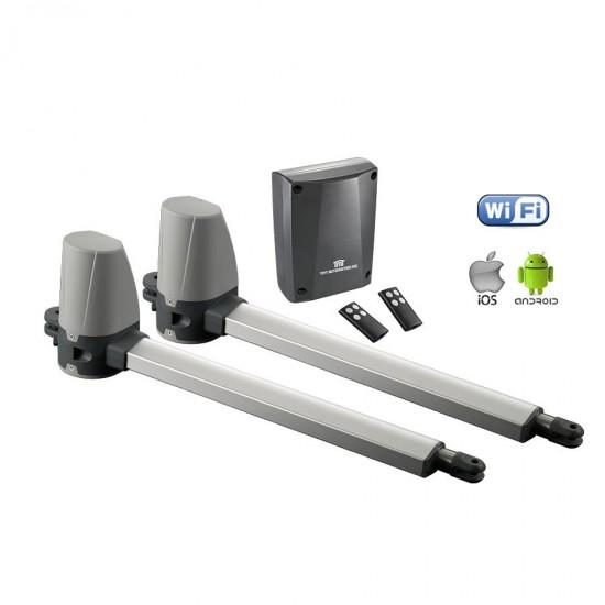 Kit Complet Porti Batante cu Wifi  2 x 2,5 metri TMT Terrier 200