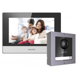 "Kit videointerfon ip Hikvision 7"" DS-UNI-7W"